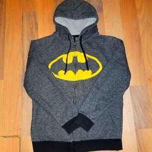 Womans BATMAN hoodie .SIZE LARGE